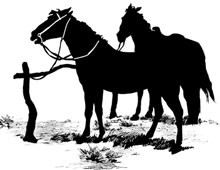 Mustang Horse Silhouette