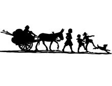 silhouette-of-donkey-and-cart-hor30