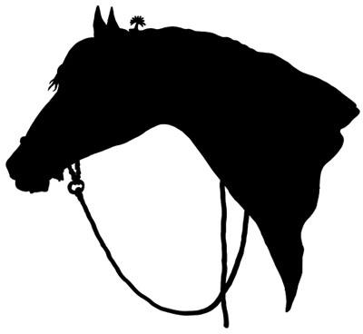 Free Horse Head Silhouette Clip Art