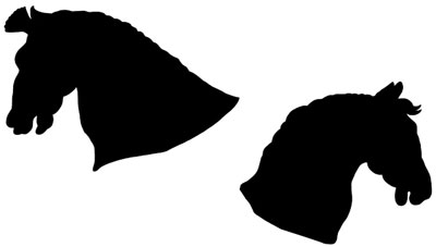 Horse Head Silhouette Images