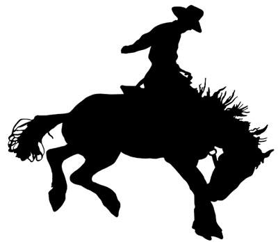 Bucking Horse Clip Art