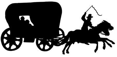 Free Horse and Wagon Clipart