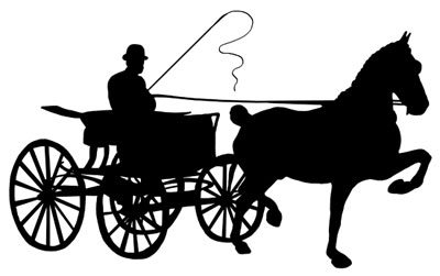 Horse Drawn Carriage Clipart