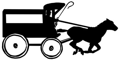 Horse Drawn Wagon Image